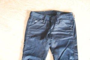 Coole Skinny Hose von G-Star in schwarz,schmale Hose gecoatet
