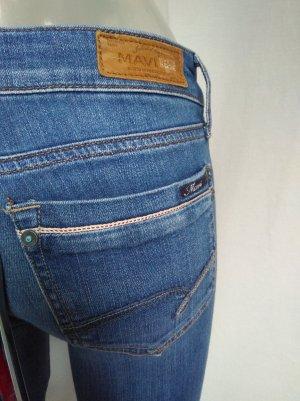 Mavi Jeans slim fit blu acciaio