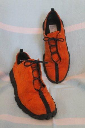 Andrea Conti Basket orange foncé-noir
