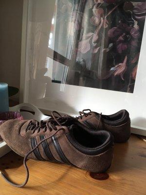Adidas Lace-Up Sneaker black brown-dark brown