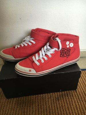 Coole sneaker von dc in rot, Größe 41