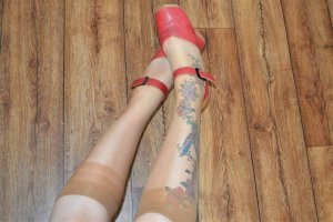 Jenny by ara Sandalo con cinturino rosso scuro-marrone