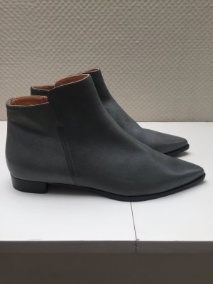 Coole spitze Stiefeletten Hess Natur Grau Gr 39 eco fashion