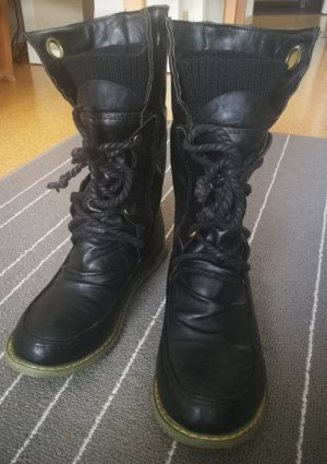 Lace-up Boots anthracite
