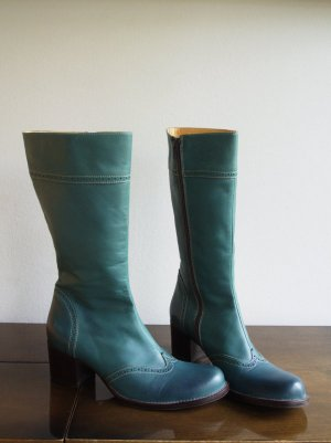 Coole  Stiefel Petrol Grün von Ricardo Cartillione