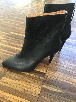 Coole Stiefeletten schwarz Hess Natur Gr 40 eco fashion