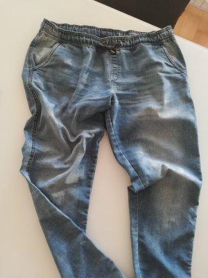 Baggy Jeans steel blue