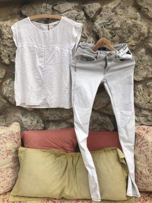Replay Pantalone elasticizzato grigio chiaro