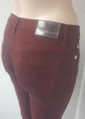 Holiday Stretch Jeans bordeaux