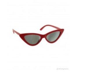 Coole stylische retro Sonnenbrille von palapas in rot neue Kollektion