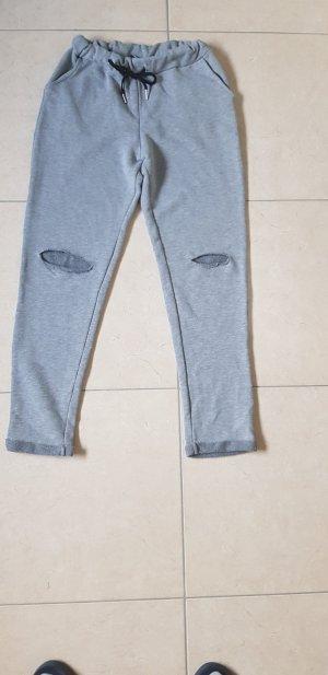Joggingbroek lichtgrijs-grijs