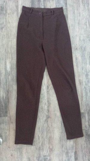 Legging brun-brun rouge