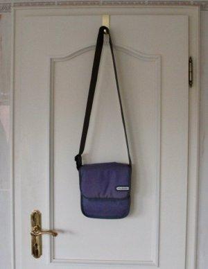 Crossbody bag purple-grey