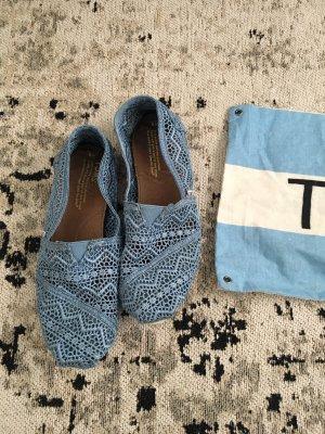Coole TOMS Schuhe in blau aus den USA