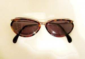 Vintage Glasses multicolored acetate