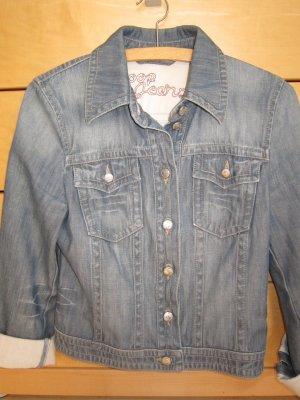 Coole Used-look Jeans Jacke von Joop