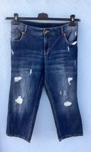 Yessica 3/4-jeans blauw-azuur