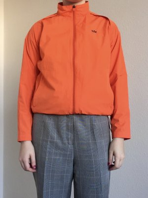 Coole vintage Sportjacke von Nike in neon orange mit Reißverschluss