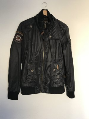 Khujo Waxed Jacket black