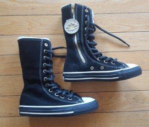 coole warme Converse - All Star KinderStiefel in schwarz/weiß, Gr.  10,5, NEU