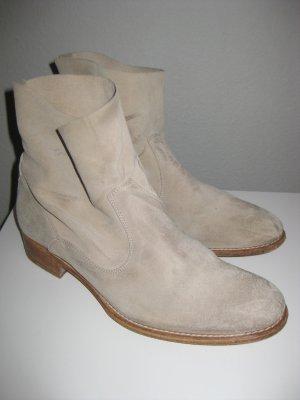 Coole Wildleder Boots / Stiefeletten von N.D.C Made By Hand in 39,5 (Beige)