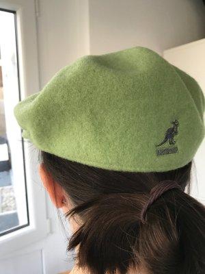 Coole Woll-Mütze/ Schieber-Hut von Kangol in Grün