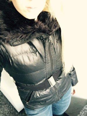 Coole  Zara Jacke Winter / Frühling mit Gürtel & Daunen