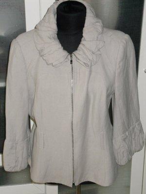 coole ZARA Woman Leinen Jacke mit tollen Details Gr.L