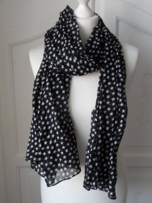 Becksöndergaard Scarf black-white cotton