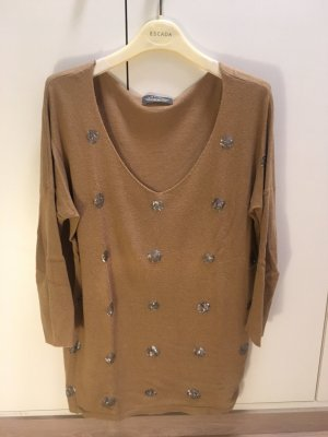 Long Sweater light brown-grey