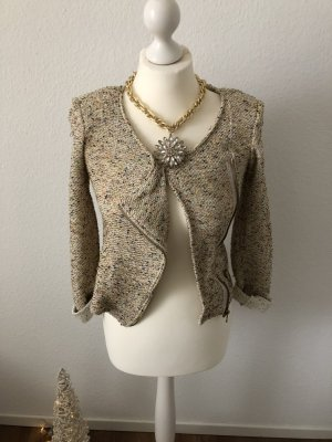 Promod Knitted Blazer multicolored