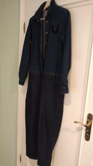 100% Fashion Fashion dark blue cotton