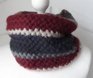 cooler Esprit Loop Schal Grobstrick mit Fleece Futter nur wenig getragen