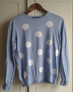 Cooler gepunkteter Pullover