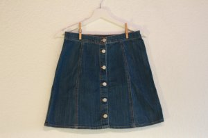 Cooler high-waist Jeansrock
