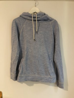 FB Sister Capuchon sweater azuur-wit