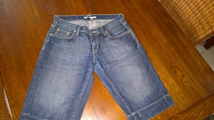 Zara Short en jean bleu-bleu foncé coton