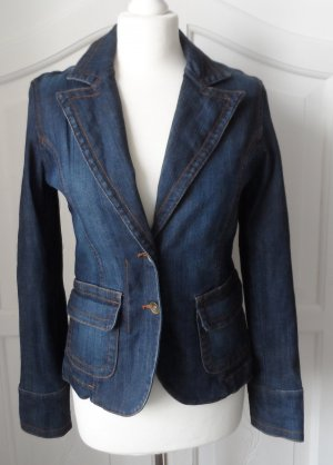 Jake*s Denim Blazer blue cotton