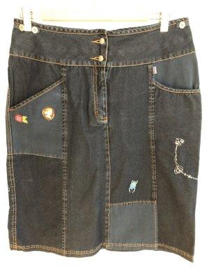 Oilily Denim Skirt multicolored