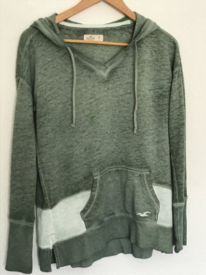Hollister Hooded Sweater sage green