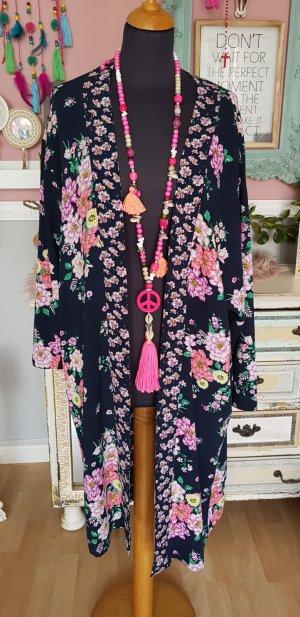 H&M Kimono donkerblauw