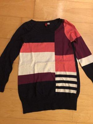 H&M Divided Maglione oversize multicolore Cotone