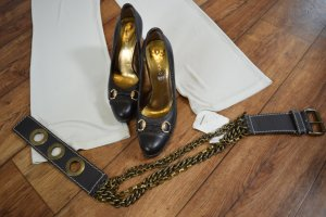 Wunderkind Chain Belt brown