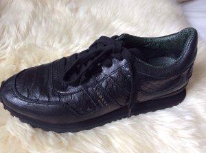 Cooler Leder-Sneaker von LIEBESKIND in Reptil-Look, nur 1x getragen