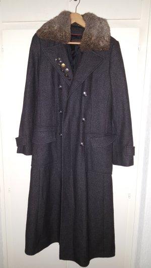 Carla Degen Wool Coat dark grey