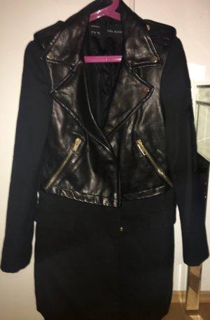 Zara Manteau court noir