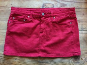 Carhartt Gonna di jeans rosso