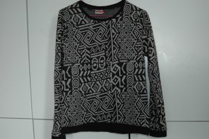 cooler Pulli mit Muster XS