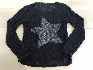 Cooler Pullover in Gr. S dunkelblau