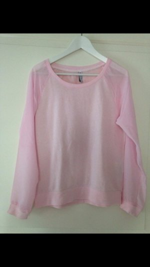 Cooler 'Pullover' mit Blusen Ärmeln
